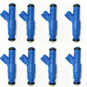 Set Of 8 Oem Bosch Injector 0280155865 For 98 02 Lincoln Continental Navigator
