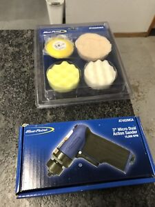 New Blue point 3 Micro Dual Action Sander polisher