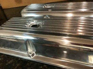 Chevrolet Exact Replica Finned Valve Covers Lt 1 Z 28 302 Corvette Camaro