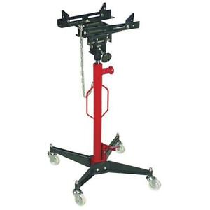Foot Operated Pump Hydraulic Jack Lift High Profile Adjustable Head Transmission