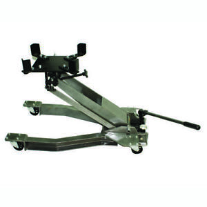 Heavy Duty Adjustable Head 1 Ton Low Profile Metal Caster Transmission Jack Lift