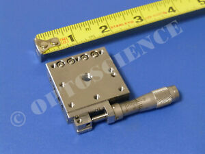Newport M sds40 Linear Translation Stage With Bm11 16 Micrometer