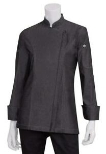 Chef Works Women s Gramercy Denim Chef Coat