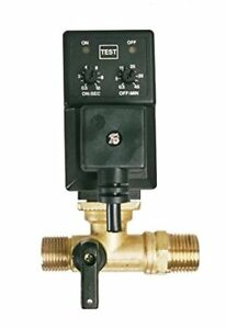 Electronic Automatic Tank Drain W Adjustable Timer For Air Compressor