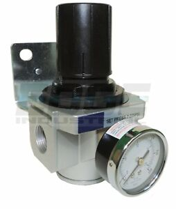 Heavy Duty High Flow 3 4 In line Compressed Air Pressure Regulator 7 To 215