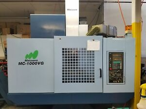 Matsuura Mc 1000vg Cnc Machining Center
