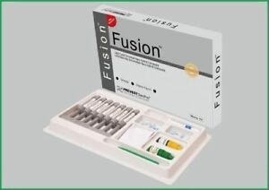Dental Nano Hybrid Universal Composite Resin Light Cure Kit Fusion Prevest Fs