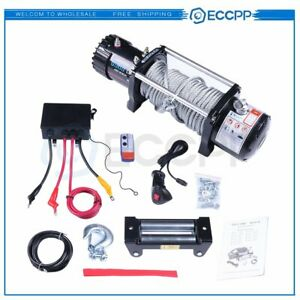 Eccpp Electric 12v Winch Xrc 9 5 Gen 2 9500lb Recovery Winch Ip68 For Jeep 97495