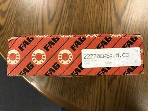 Fag 22220easkmc3 Spherical Roller Bearing New In Factory Box