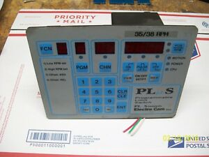 Electro Cam Programmable Limit Switch 120vac Ps 4000 10 016