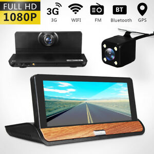 7 Wifi Car Dashboard Dvr Android Recorder Gps Navigation Night Vision Camera