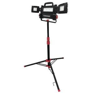 Led Work Light Tripod Stand Up Handheld Clamp Shop Construction Portable Corded