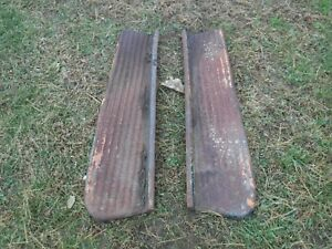 1948 1949 1950 1951 1953 Chevrolet Chevy 1 1 2 Ton Pick Up Truck Running Boards