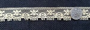 A12 Vintage Lace Trim Edging Trims Sewing Doll French Dolls Costumes 5 Yards
