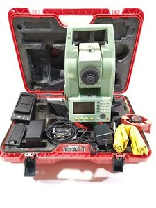 Leica Tcr703 Survey Total Station Excellent Tcr 703 Tcr805power 351 539 Software