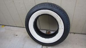Tire White Wall 3 7 60 15 Good Year Used
