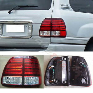 1set Led Tail Lights Rear Lamps For 2003 2005 Lexus Lx470 Red White