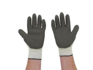 Atlas 451 Work Gloves Knit With Latex Coating Grey grey 1 Dozen Large bulk