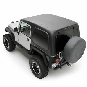 Smittybilt One piece Black Hardtop Fits 1997 2006 Jeep Wrangler Tl And Rubicon