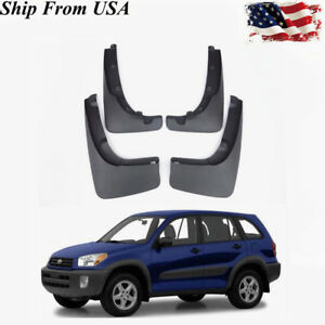 08414 42820 Splash Guards Mud Flaps Guards For 2000 2005 Toyota Rav4 Oe Style