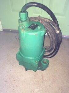 2 Hp Hydromatic Submersible Sewage Grinder Pump