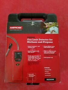 Amprobe Gas Leak Detector For Methane And Propane Gsd600 New Nib