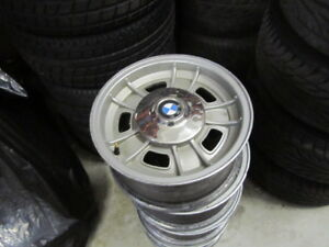 Vintage Bmw E9 Csl Csi Cs Magnesium Wheels 14 Originals