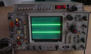 Tektronix 475 Scope With Dm 44 Dvm As Is For Part Repair Or Restoration Project