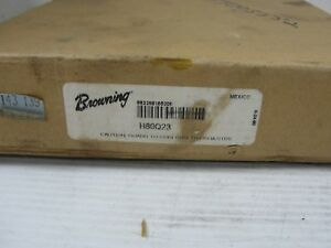 Browning Pulley H80q23 Bushing Bore Roller Chain Sprocket