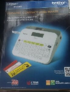 Brother Ptd400 Label Maker Brand New Free Shipping