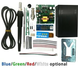 Digital Soldering Kit Station Temperature Controller Handle Vibration Switch New