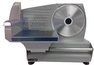 Commercial Electric Food Slicer Heavy Duty Stainless Steel Blade Kitchen 180w
