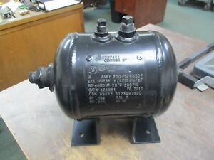 Manchester Tank Compressed Air Tank 304981 2 Gal 200psi Mawp Used