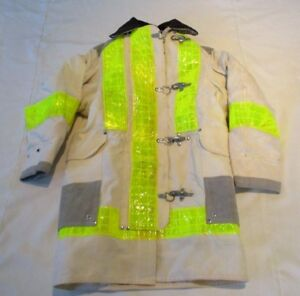 Janesville Chief Firefighter Turnout Jacket Size 34 New