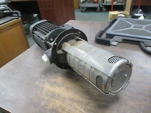 Grundfos Pump Mtr5 5 3 A w a huuv 1 10kw 60hz 3463rpm 25bar Max Used