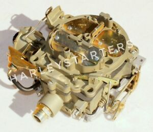 Rochester Quadrajet Rblt Carb Replacement 1967 Pontiac 400 Eng Electric Choke