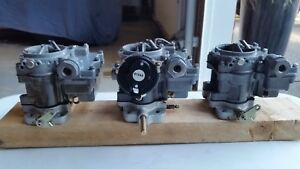 Rochester Replica Tri Power Carburetors