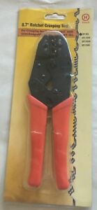 H tool Ht 301 Ratchet Crimping Tool Awg 22 18 16 14 12 10 For Insulated Terminal