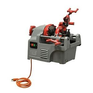 1 2 1 Electric Pipe Threader Threading Machine Pipe Cutter Deburrer