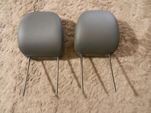 Two Gray Headrests From 2005 Dodge Magnum Wagon