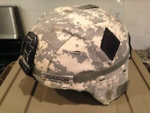 ACH Advanced Combat Helmet Named Patched 501st Infantry Cover ACU