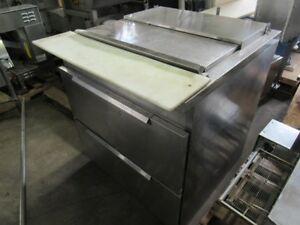 Randell Stainless Steel Pizza Prep Cabinet