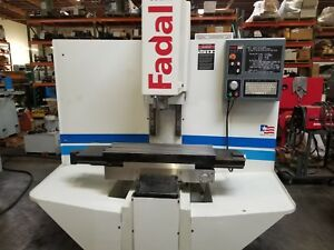 Fadal Trm Tool Room Mill Mfg 2003 Ready For 2018 Delivery See Video