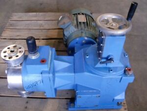 American Lewa Simplex Pump Horizontal Type Eh High Press Positive Displacement