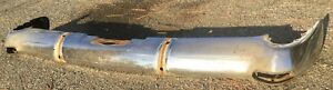 52 53 Cadillac Rear Bumper Exhaust Port Style Rat Rod Style