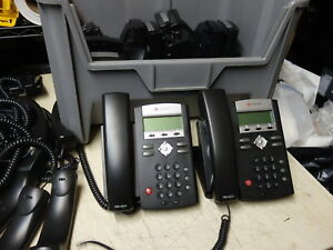 Lot Of 12x Polycom 2200 12375 025 Soundpoint Ip 335 Voip Phone