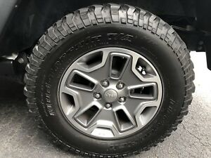 2017 Jeep Wrangler Rubicon Wheels And Tires 5x
