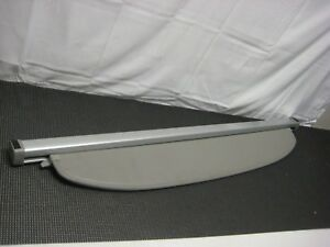 2004 2009 Toyota Prius Oem Rear Cargo Cover Privacy Shade Grey