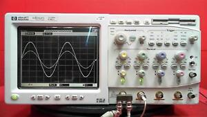 Hp hewlett Packard 54845a 1 5ghz 8gsa s Digital Oscilloscope As is Uncalibrated