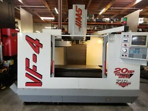 Haas Vf 4 Mfg 1997 32 Tool Atc 4th Ready 2018 Delivery Video